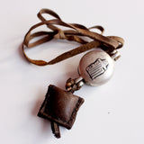 Leather Amulet and Ghau Locket