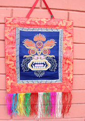 Mahakala Silk Brocade Wall Hanging - NepaCrafts