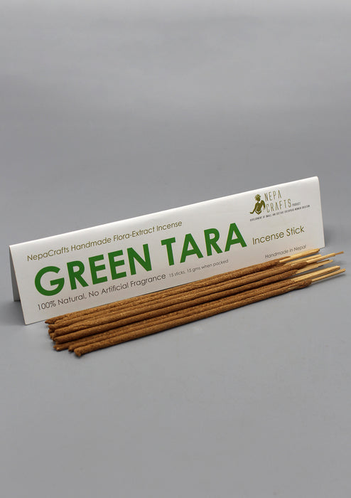100% Natural NepaCrafts Handmade Green Tara Incense Sticks - nepacrafts