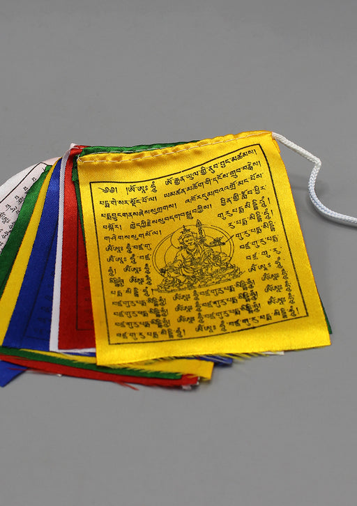 Guru Rinpoche Baby Polyester Silk Prayer Flags