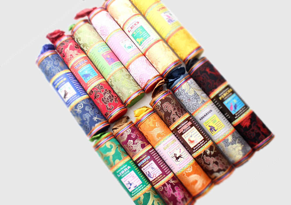 Herbal Himalayas Tibetan Horoscope Incense: For All 12 Zodiac Signs - nepacrafts