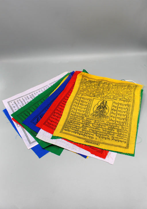 Heavy Cotton Large Tibetan Prayer Flags