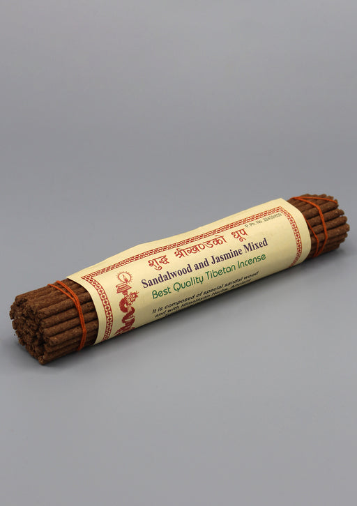 Sandalwood and Jasmine Mixed Best Quality Tibetan Incense - nepacrafts