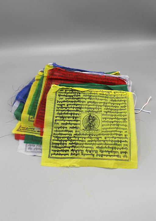 Green Tara Polyester Prayer Flags