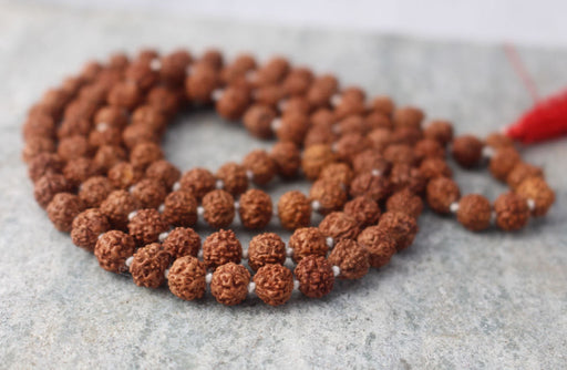 Rudraksha Prayer Mala-5 Faced - nepacrafts