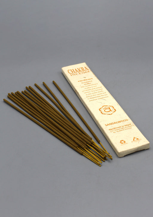 NepaCrafts Premium Sandalwood Navel Chakra Incense Sticks