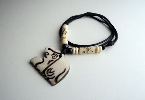 Handcrafted Elephant Pendant Necklace
