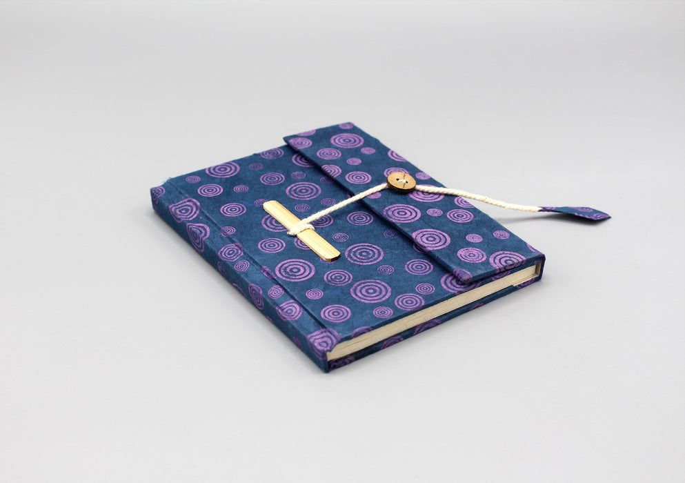 Eco Friendly Lokta Paper Travel Journal - nepacrafts