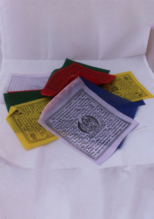 Traditional Cotton Prayer Flags