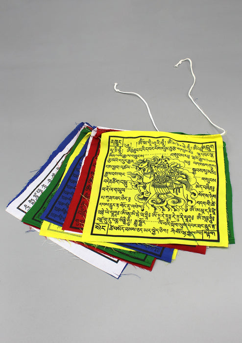 Traditional Mixed Prayer Flags