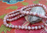 Om Mani Etched Carnelian Prayer Beads Mala, Yoga and Meditation Mala - nepacrafts