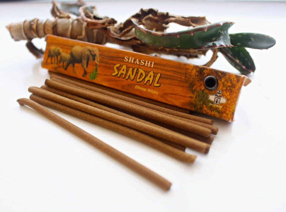 Set of 12 Shashi Sandal Dhoop Sticks - nepacrafts