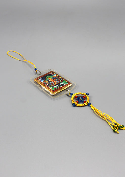 Manjushree Car Hanging Protection Amulet - nepacrafts