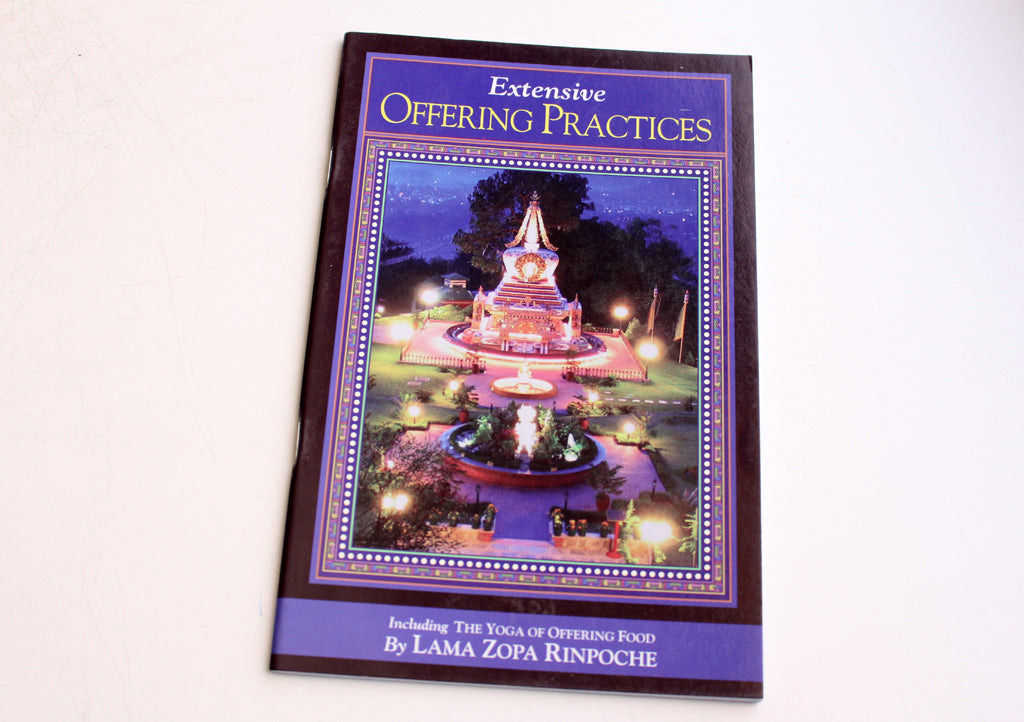 Extensive Offering Practices by Lama Zopa Rinpoche - nepacrafts