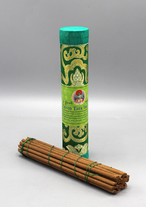 Green Tara Tibetan Tube Incense
