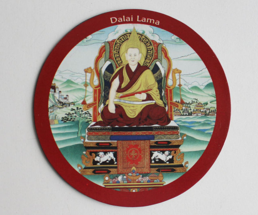 Dalai Lama Fridge Magnet - nepacrafts