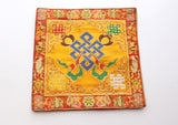 Heavy Embroidered Endless Knot Altar Cloth Purely Handmade - NepaCrafts