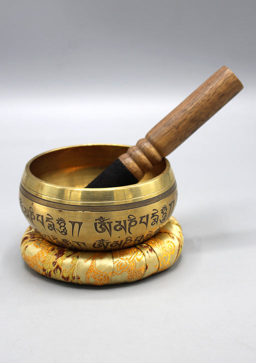 Double Dorjee Tibetan Singing Bowl