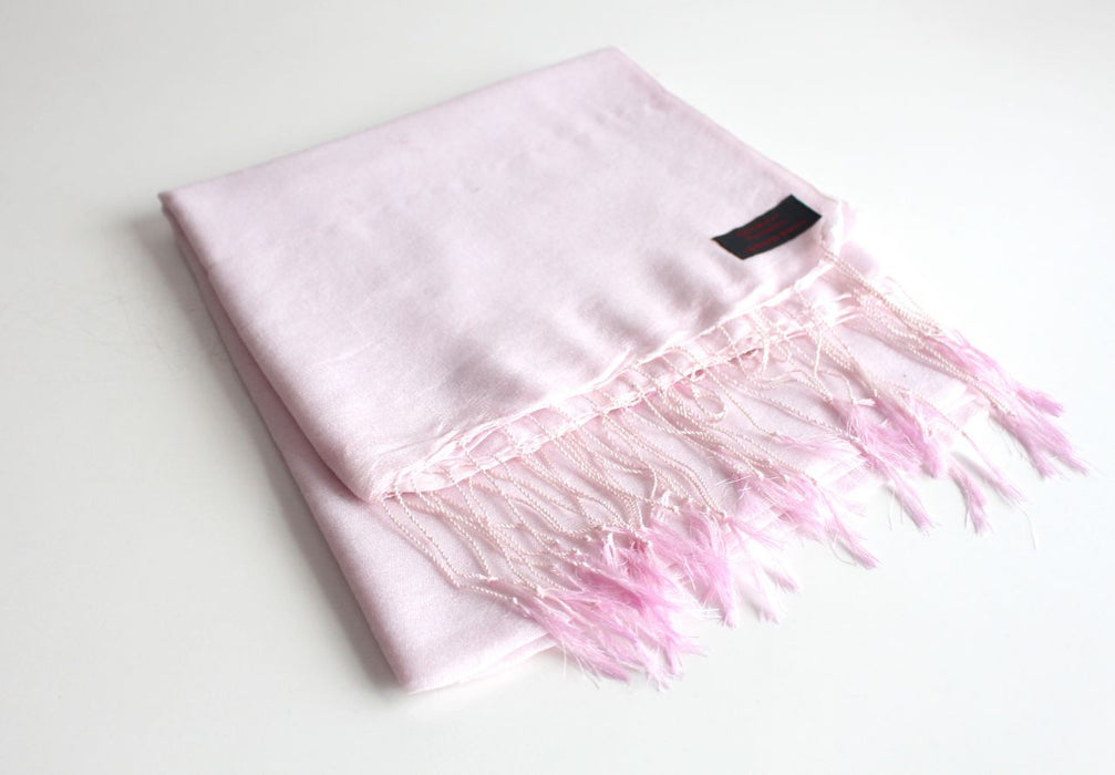 Smooth Himalayan Water Pashmina Stole - nepacrafts