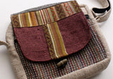 Hemp Utility Multipurpose Shoulder Travel Passport Bag - NepaCrafts