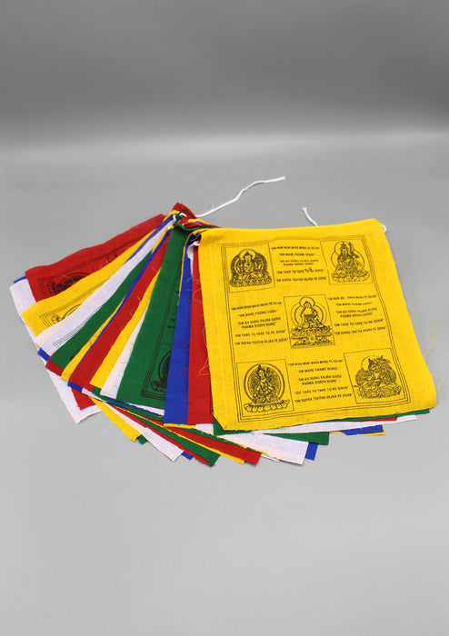 English Translated Tibetan Prayer Flags