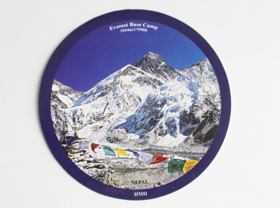Everest Base Camp Sticker - nepacrafts