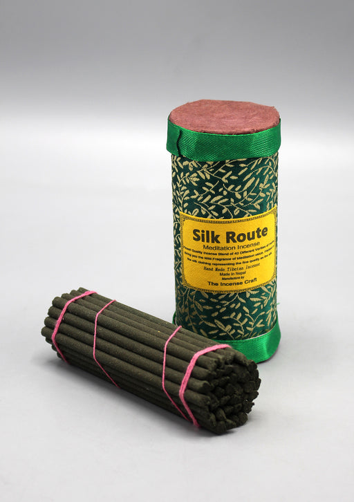 Tibetan Silk Route Meditation Incense Green Pack