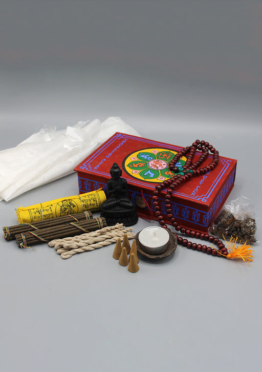 Tibetan Buddhist Travelling Altar Incense Gift Pack
