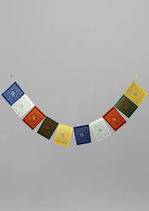 Dharamshala Windhorse Prayer Flags