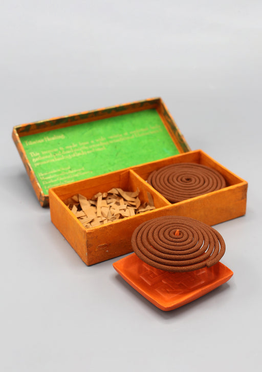 Pure Land Tibetan Healing Coil Incense Gift Box - nepacrafts