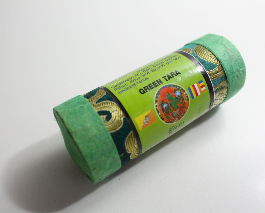 Tibetan Green Tara Tribute Incense - nepacrafts