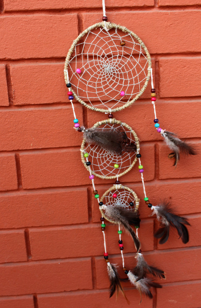 Dream Catcher 3 hoops - nepacrafts