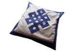 Eternal Knot Patchwork Cotton Pillow Cover - NepaCrafts