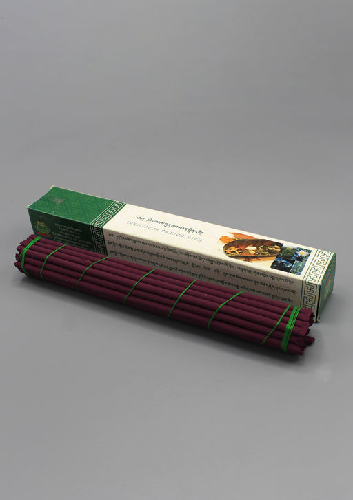 Green Box Bhutanese Nado Poizokhang Incense - nepacrafts
