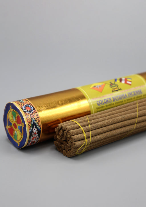 Golden Buddha Bhutanese Incense - nepacrafts