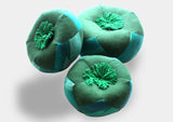 Fair Trade Green Singing Bowl Cushion-In Three Sizes - NepaCrafts