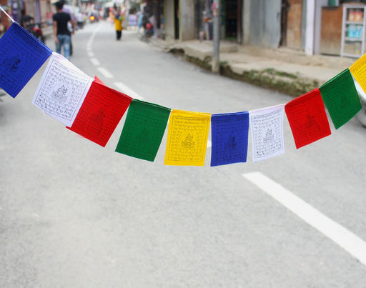 Green Tara prayer Flags