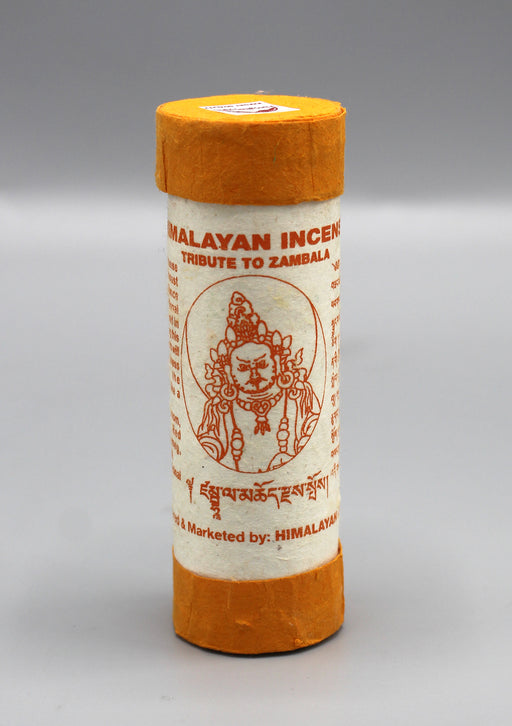 Himalayan Incense Tribute to Zambala - nepacrafts