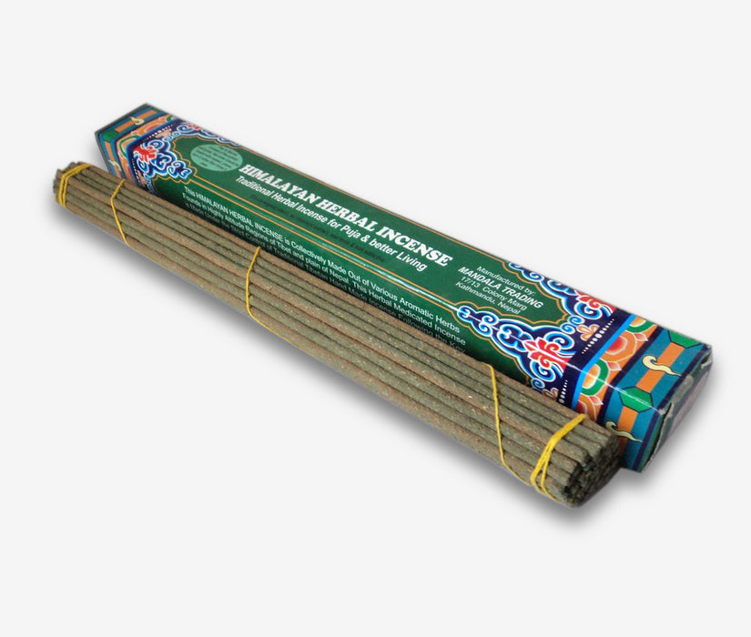 Large Himalayan Herbal Tibetan Incense Sticks - nepacrafts