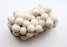 All White Felt Ball Christmas Hanging Home Decor - nepacrafts