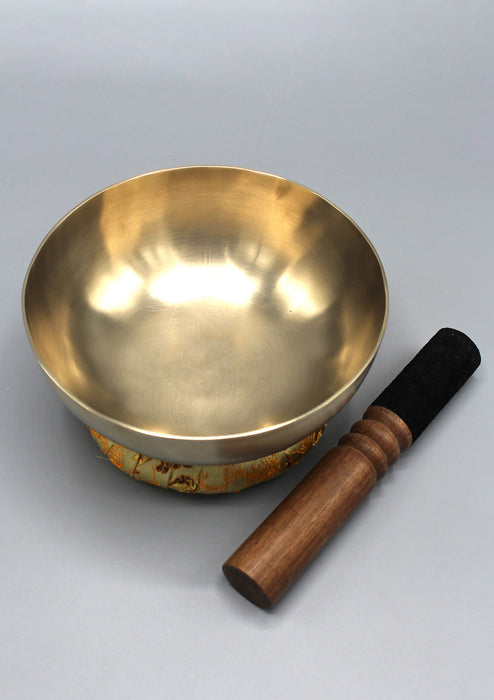 "Tibetan Healing Zen Singing Bowl 6.8""/17 cm with Cushion and Mallet Note # D"