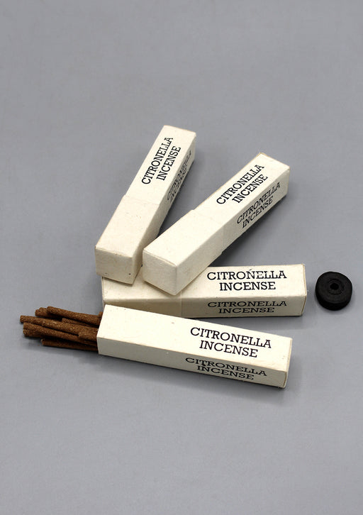 Set of 4 Citronella Incense Gift Pack