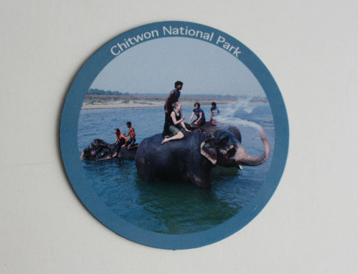 Chitwan National Park Nepal Fridge Magnet - nepacrafts