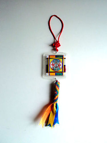 Goh Sung Car Hanging Protector Amulet - nepacrafts