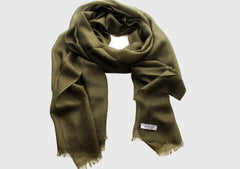 100% Exclusive Green Cashmere Stole from Nepal