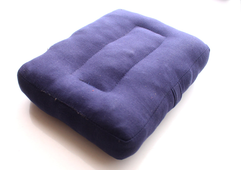 Dark Blue Meditation Cushion - nepacrafts