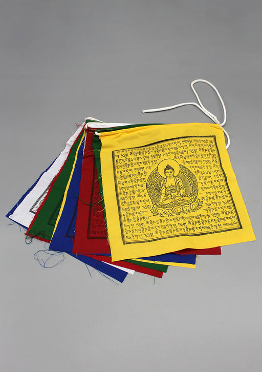 Healing Buddha Prayer Flags