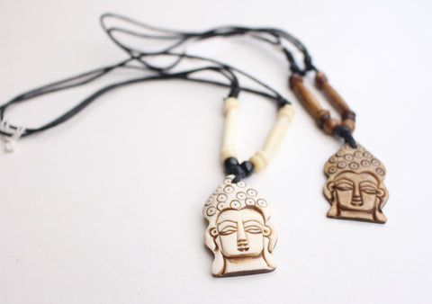 Handcrafted Buddha Pendant Necklace