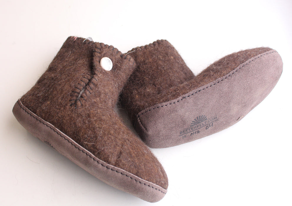 Soft and Comfortble Classic Felt Wool Boot - nepacrafts
