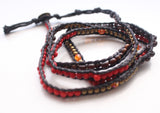 Multicolor Hand Woven Five Wrap Bracelet - NepaCrafts